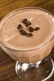 Κρέμα καφέ πάγου Εκλεκτική εστίαση Στοκ εικόνες με δικαίωμα ελεύθερης χρήσης