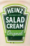 Κρέμα σαλάτας της Heinz στοκ εικόνες με δικαίωμα ελεύθερης χρήσης