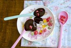 Κρέμα σοκολάτας Στοκ φωτογραφίες με δικαίωμα ελεύθερης χρήσης