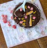 Κρέμα σοκολάτας Στοκ Φωτογραφίες