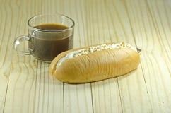 κρέμα ψωμιού που γεμίζουν Στοκ Φωτογραφία