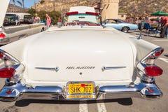 Κρέμα 1957 Pontiac Bonniville Στοκ εικόνα με δικαίωμα ελεύθερης χρήσης