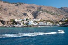 Κρήτη, χωριό Sfakia στοκ εικόνες