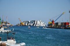 Κρίνος 3 νησιών - κρουαζιερόπλοιο 2 αποκατάστασης Στοκ Φωτογραφίες