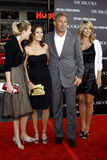 Κρίνος Costner, Annie Costner, Kevin Costner και σύζυγος Christine Baumgartner Στοκ εικόνες με δικαίωμα ελεύθερης χρήσης