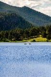 Κρίνων λιμνών δύσκολο ίχνος του Κολοράντο πάρκων βουνών εθνικό Στοκ Εικόνα