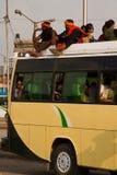 Κρίση έλλειψης βενζίνης στο Κατμαντού, Νεπάλ Στοκ φωτογραφία με δικαίωμα ελεύθερης χρήσης
