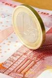 Κρίση του ευρώ στοκ εικόνες με δικαίωμα ελεύθερης χρήσης