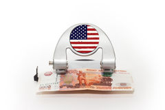 Κρίση Finansial Στοκ εικόνα με δικαίωμα ελεύθερης χρήσης
