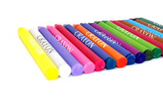 Κραγιόνια του χρώματος Στοκ φωτογραφία με δικαίωμα ελεύθερης χρήσης