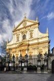 Κρακοβία - εκκλησία του ST Peter και του ST Paul Στοκ εικόνες με δικαίωμα ελεύθερης χρήσης