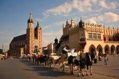 Κρακοβία Κρακοβία Πολω& Στοκ εικόνα με δικαίωμα ελεύθερης χρήσης