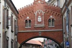 Κρακοβία, παλαιά πόλη, Πολωνία στοκ εικόνα