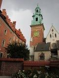 Κρακοβία Το Wawel Castle Στοκ φωτογραφία με δικαίωμα ελεύθερης χρήσης