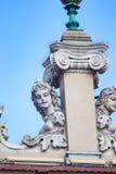ΚΡΑΚΟΒΙΑ, ΠΟΛΩΝΙΑ - ΤΟΝ ΙΟΎΝΙΟ ΤΟΥ 2012: MASCARONS ΣΤΗ ΣΤΗΛΗ Στοκ Εικόνες