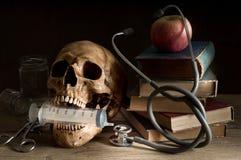 Κρανίο γιατρών Στοκ εικόνες με δικαίωμα ελεύθερης χρήσης