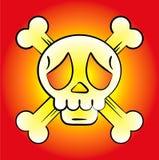 κρανίο λογότυπων Στοκ φωτογραφία με δικαίωμα ελεύθερης χρήσης