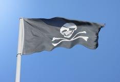 κρανίο πειρατών Στοκ Εικόνα