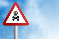 κρανίο σημαδιών Στοκ φωτογραφία με δικαίωμα ελεύθερης χρήσης