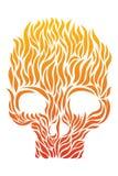 Κρανίο της φλόγας Στοκ Εικόνες