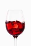 Κρασί άσπρο κρασί γυαλιού ανασκόπησης Στοκ Εικόνες