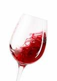 Κρασί άσπρο κρασί γυαλιού ανασκόπησης Στοκ Φωτογραφίες