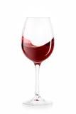 Κρασί άσπρο κρασί γυαλιού ανασκόπησης Στοκ Εικόνα