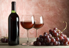 κρασί ανασκόπησης Στοκ εικόνες με δικαίωμα ελεύθερης χρήσης