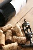 κρασί ανοιχτήρι μπουκαλιών Στοκ εικόνες με δικαίωμα ελεύθερης χρήσης