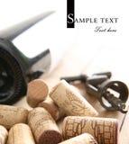 κρασί ανοιχτήρι μπουκαλ&iota Στοκ εικόνες με δικαίωμα ελεύθερης χρήσης