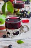 Κρασί από το aronia Στοκ φωτογραφία με δικαίωμα ελεύθερης χρήσης