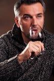 κρασί ατόμων Στοκ Φωτογραφίες