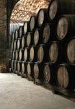 κρασί βαρελιών Στοκ εικόνες με δικαίωμα ελεύθερης χρήσης
