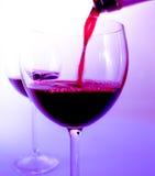 κρασί γυαλιού Στοκ εικόνα με δικαίωμα ελεύθερης χρήσης