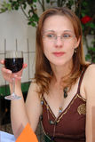 κρασί δοκιμαστών στοκ φωτογραφία με δικαίωμα ελεύθερης χρήσης