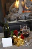 κρασί δώρων Στοκ φωτογραφία με δικαίωμα ελεύθερης χρήσης