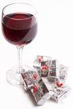 κρασί δώρων Στοκ εικόνα με δικαίωμα ελεύθερης χρήσης