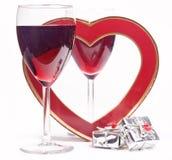 κρασί δώρων Στοκ Εικόνες