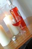 Κρασί εορτασμού Στοκ εικόνες με δικαίωμα ελεύθερης χρήσης