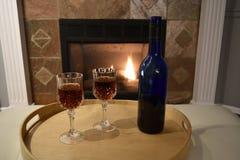Κρασί εστιών στοκ φωτογραφία με δικαίωμα ελεύθερης χρήσης