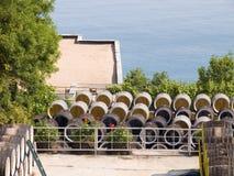 κρασί κατασκευής σταφυ& Στοκ Φωτογραφία