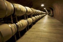 κρασί κελαριών Στοκ Φωτογραφίες