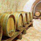 κρασί κελαριών Στοκ Φωτογραφία