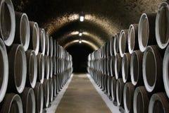κρασί κελαριών Στοκ φωτογραφίες με δικαίωμα ελεύθερης χρήσης