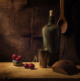 κρασί κερασιών Στοκ Εικόνες
