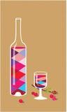 Κρασί κερασιών Στοκ φωτογραφία με δικαίωμα ελεύθερης χρήσης