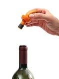 κρασί κονσερβών σας Στοκ εικόνα με δικαίωμα ελεύθερης χρήσης