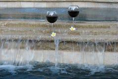 κρασί λιμνών Στοκ Φωτογραφία