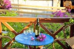 κρασί λουλουδιών Στοκ Εικόνες