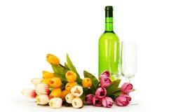 κρασί λουλουδιών Στοκ Φωτογραφία